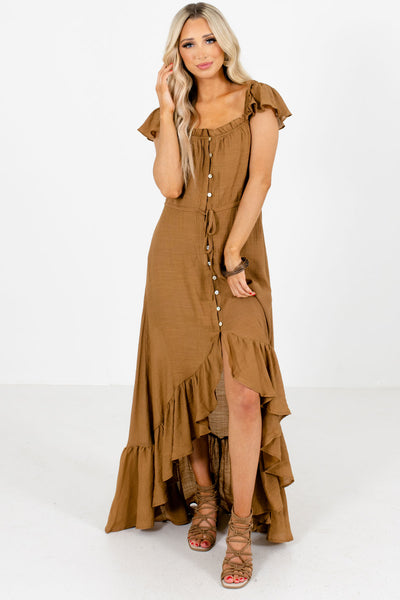 Women's Brown Spring and Summertime Boutique Clothing