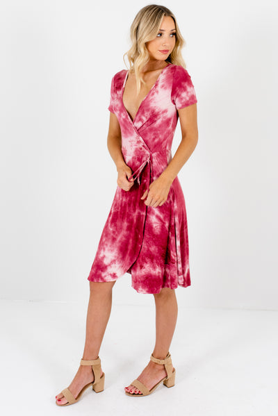 Pink Tie-Dye Night Our Women's Boutique Dress