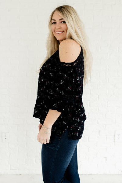 4175c8a66c Dark Navy Blue Women's Plus Size High-Low Hem Boutique Blouse