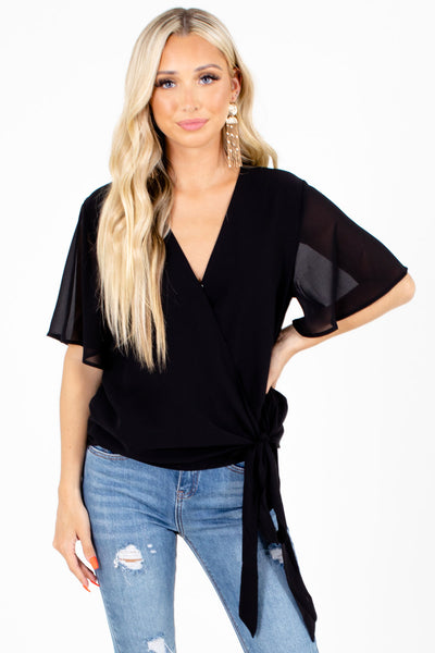 Sweet Success Wrap Top