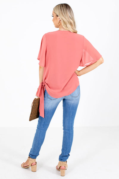 Women's Pink Spring and Summertime Boutique Clothing