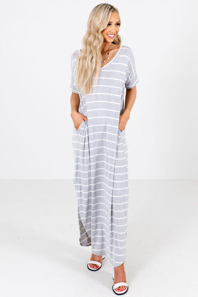 Sweet & Sunny Striped Maxi Dress