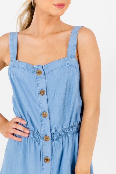 Light Blue Affordable Online Boutique Clothing for Women