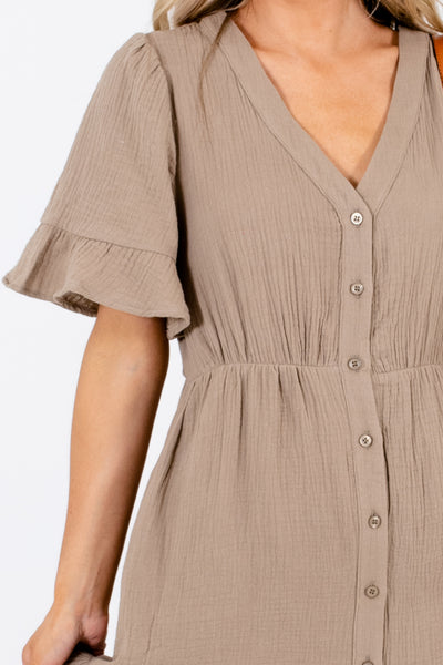 Olive Affordable Online Boutique Midi Dresses for Women