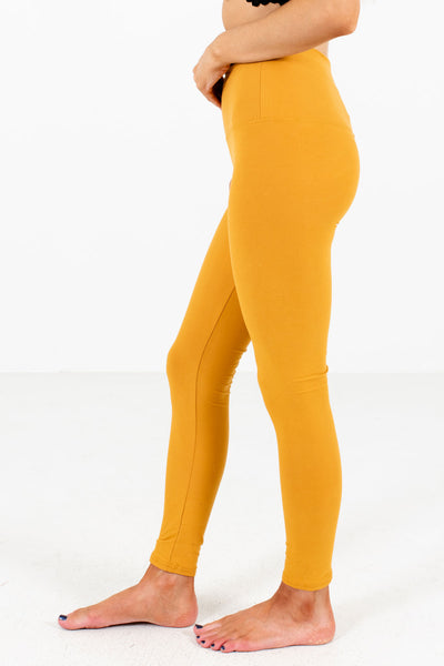 Take Me Home Mustard Leggings