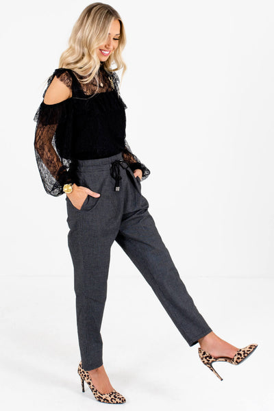 Black Cute and Comfortable Boutique Pants for Women