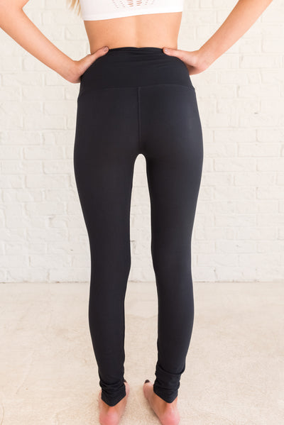 Black Skinny Fit Women's Leggings