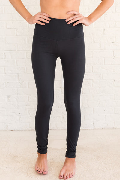 Black Boutique Casual Leggings for Women's