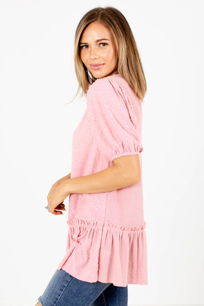 Pink Affordable Online Boutique Clothing for Women