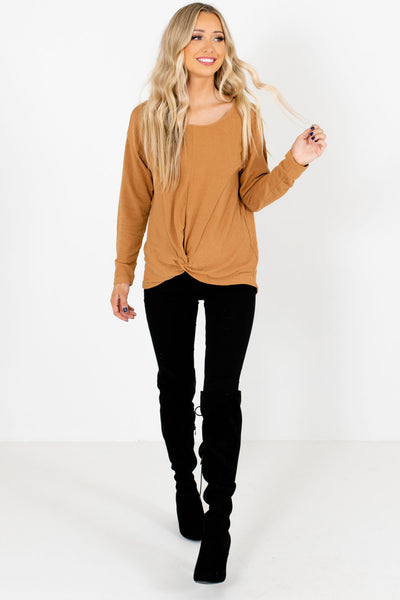 Women's Mustard Fall and Winter Boutique Clothing