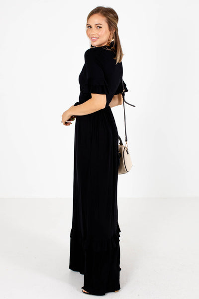 Black Date Night Boutique Maxi Dresses for Women