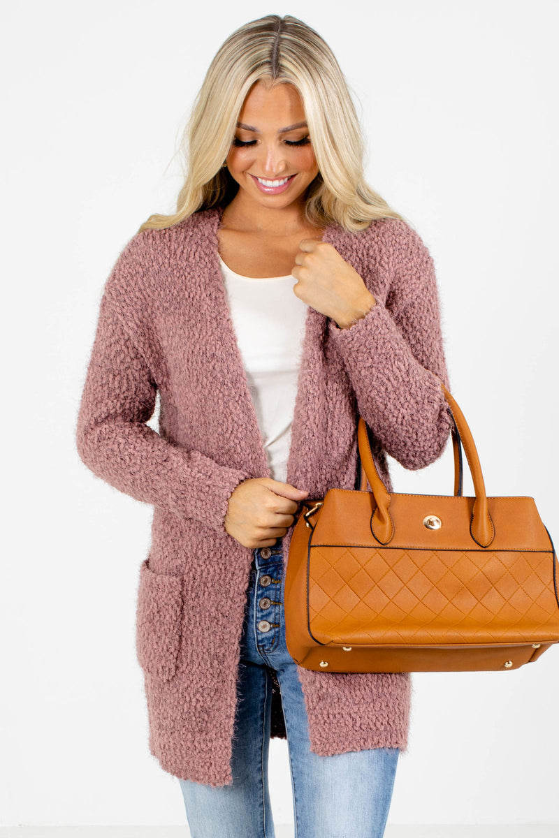 Top of the Class Popcorn Cardigan