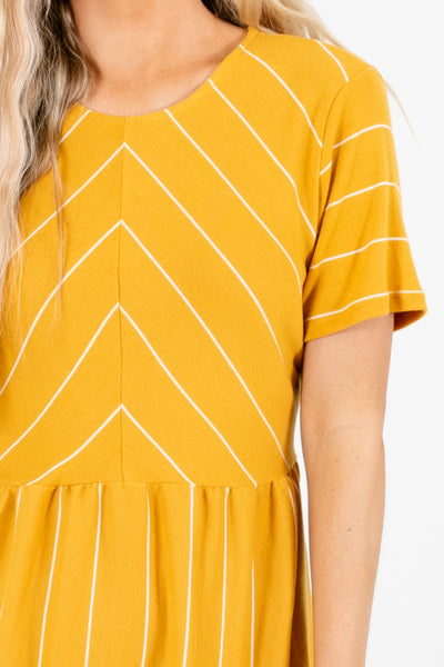 Mustard Affordable Online Boutique Tank Tops for Women
