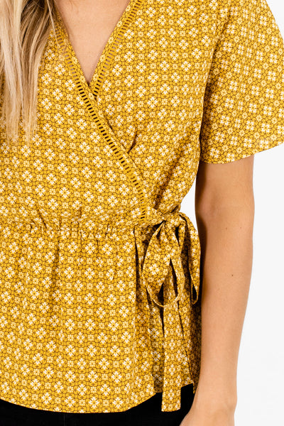 Mustard Yellow Affordable Online Boutique Clothing