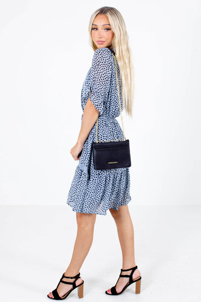 Wildest Dreams Patterned Knee-Length Dress