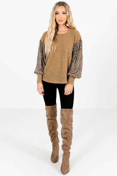 Women's Olive Fall and Winter Boutique Clothing