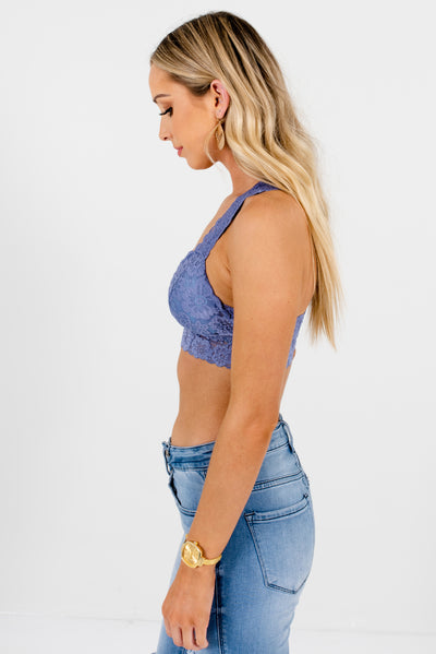Women's Dusty Blue Spring and Summertime Boutique Clothing