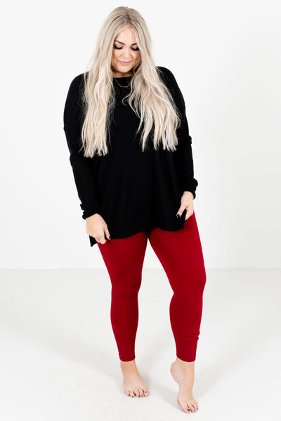 Women's Red Fall and Winter Boutique Clothing