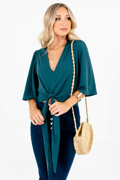 Emerald Green Affordable Online Boutique Clothing for Women