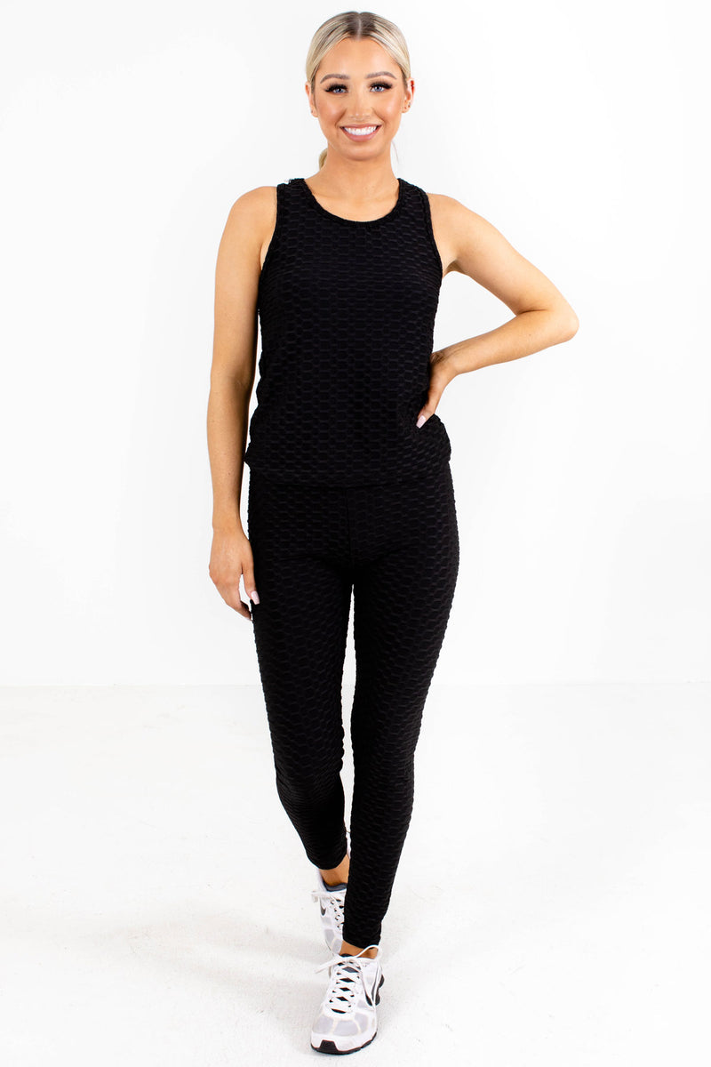 Active Anti-Cellulite Tank and Leggings Set