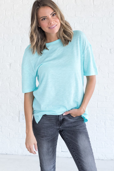 Aqua Blue Boutique Cute T Shirts and Tees for Women