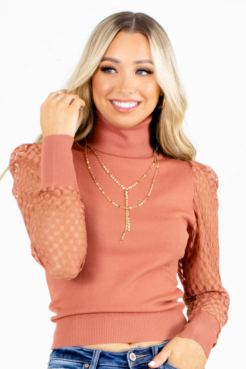 Arm Candy Textured Sleeve Top
