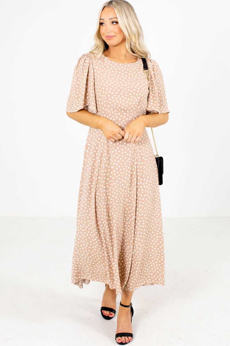 Belle De Jour Patterned Maxi Dress
