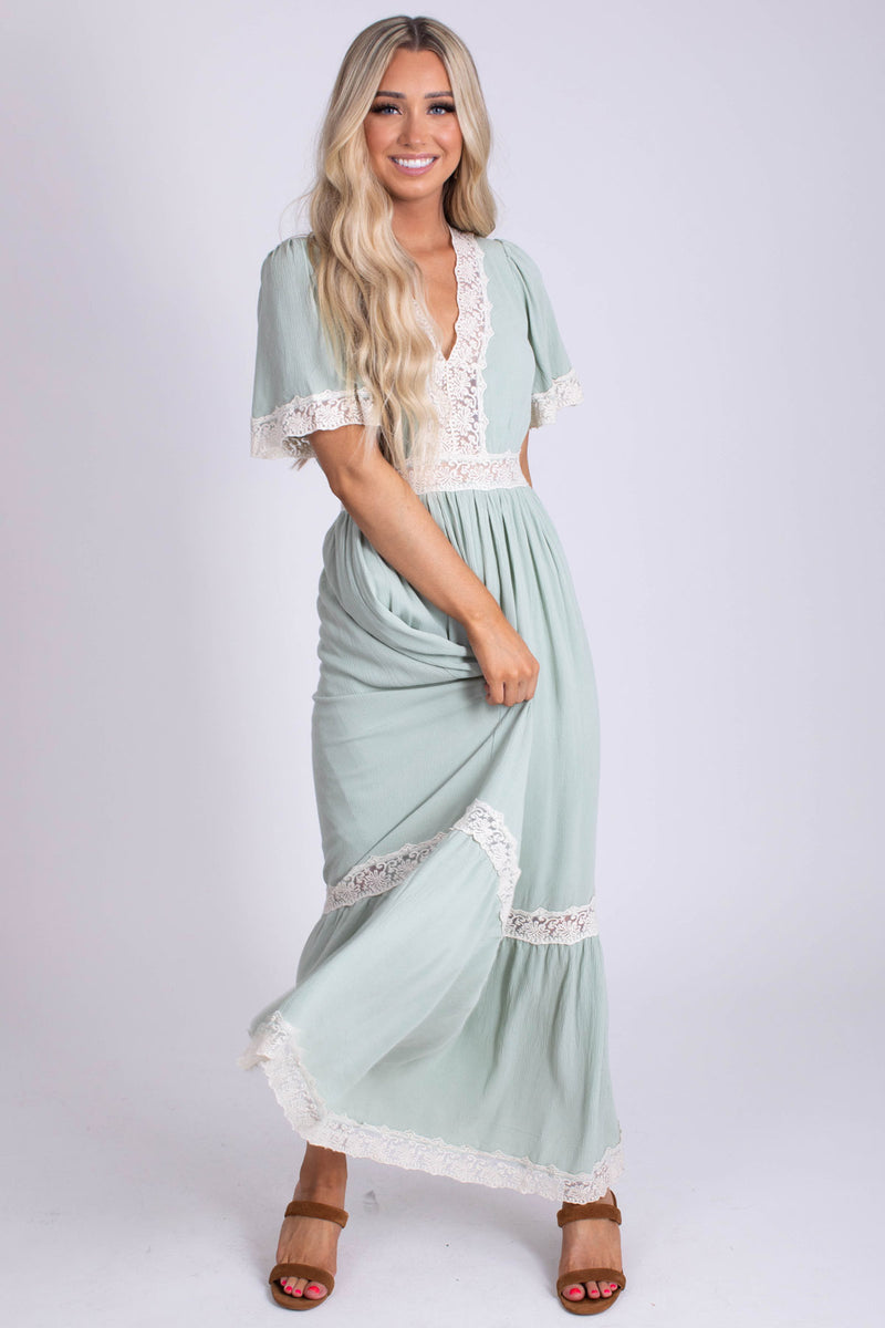 Boldly Boho Maxi Dress