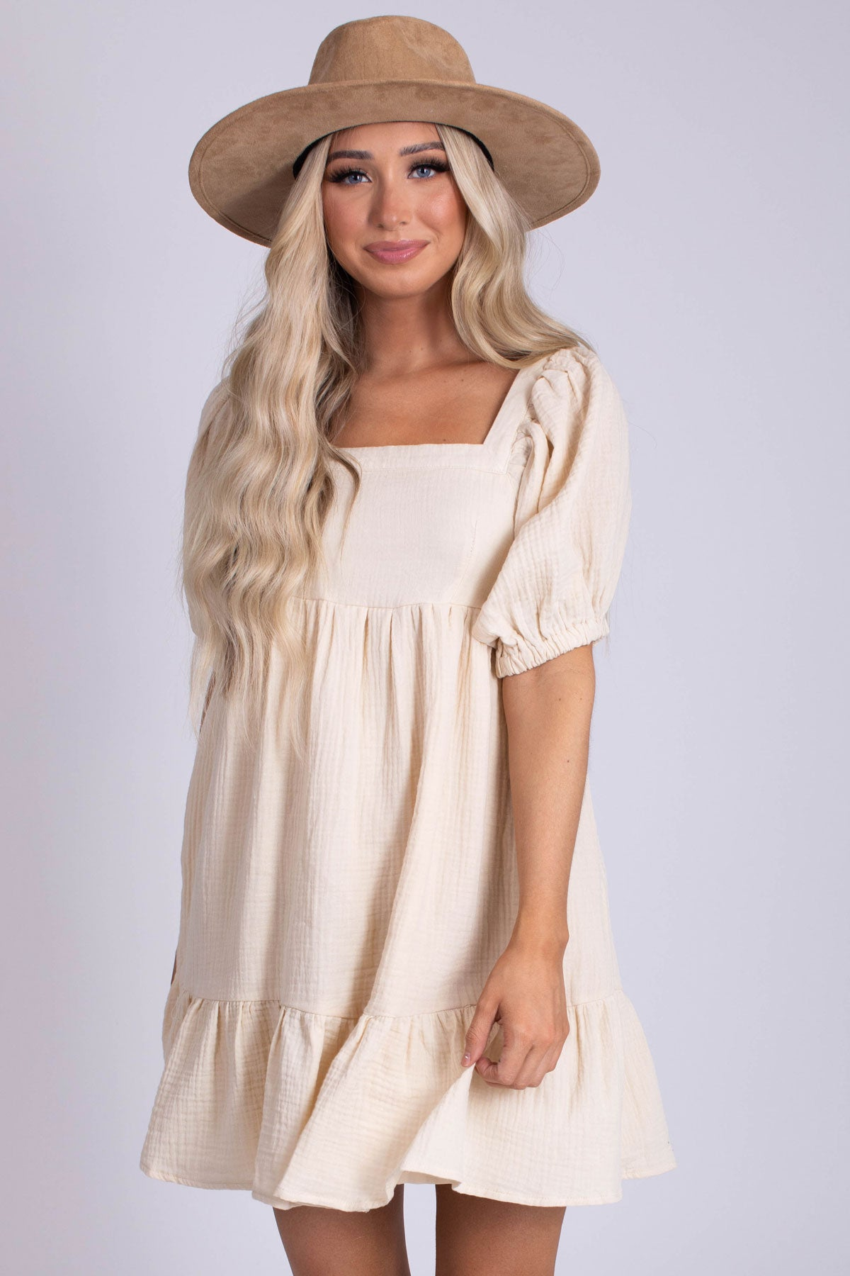 Relaxed Fit Women's Mini Dress