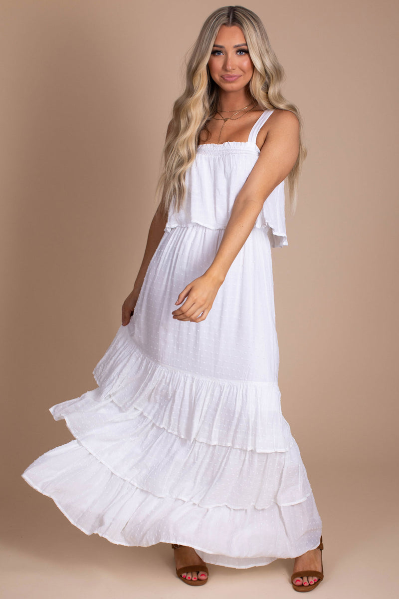 Dreaming Of You Maxi Dress - White