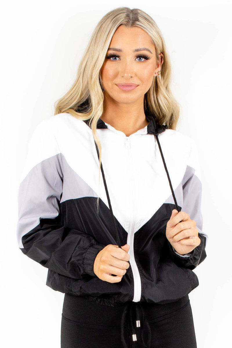 Far From Over Color Block Windbreaker