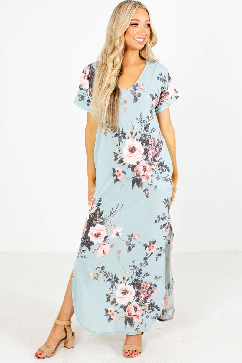 Forever My Girl Floral Maxi Dress