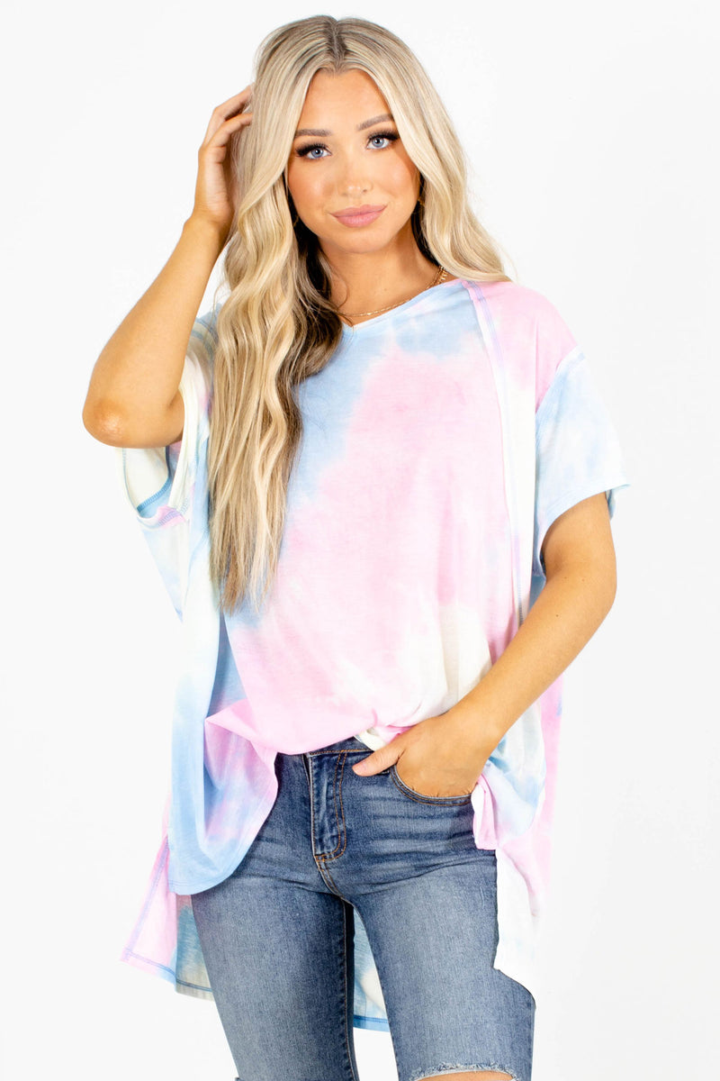Hold The Drama Tie-Dye Top