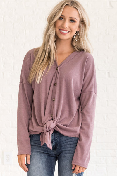Mauve Purple Fall Clothing