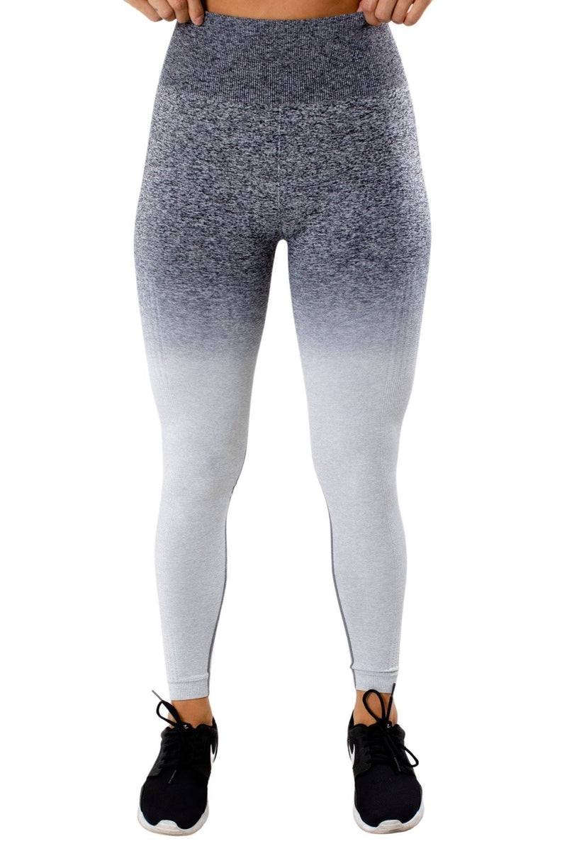 High Waisted Ombre Legging