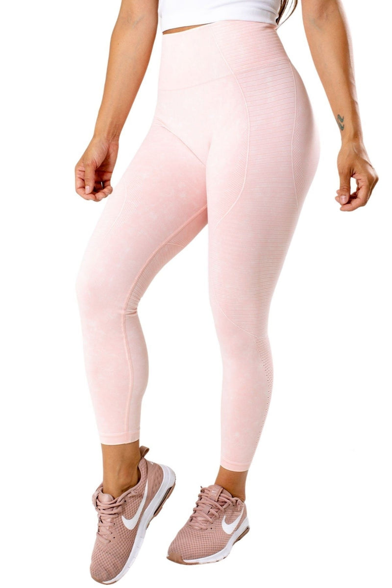 High Waisted Mineral Wash Legging