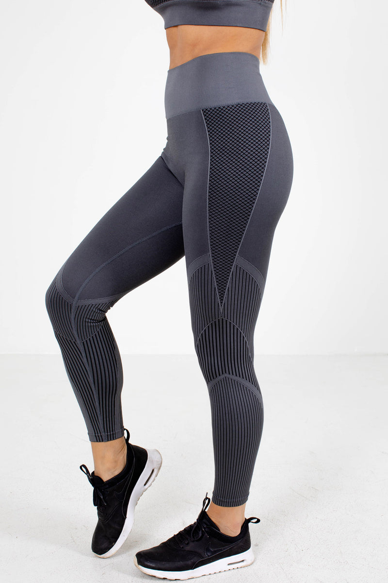 Premium Active Leggings - Dark Gray