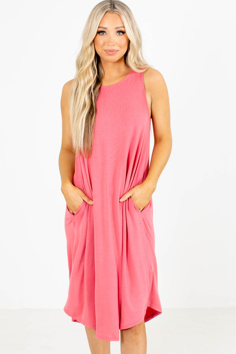 Seaside Views Midi Dress