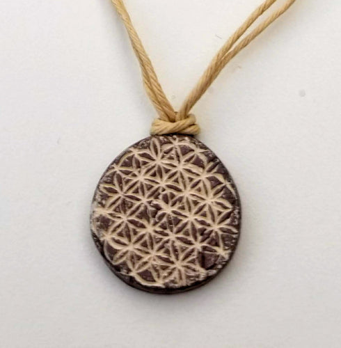 Dusky Flower of Life Pendant