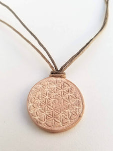 Woodstock Flower of Life Pendant