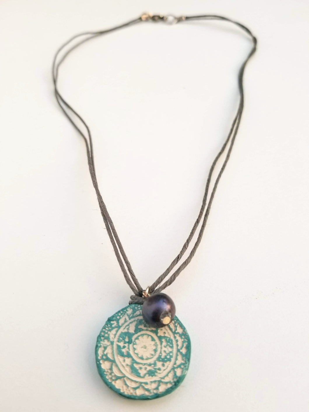 Dark Shade of Grey Balance Pendant