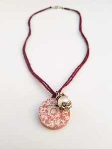 Sweet Rose Flower Pendant