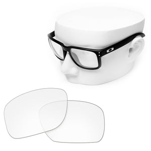 OOWLIT Replacement Lenses for Oakley Holbrook Sunglass - HD Clear
