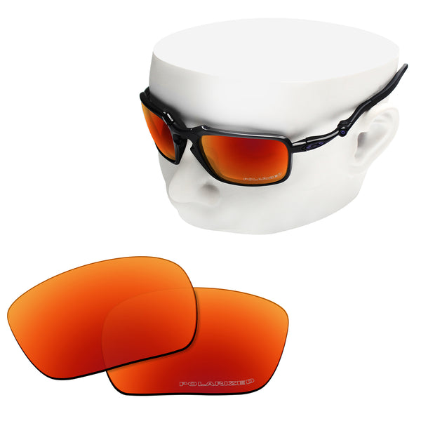 OOWLIT Replacement Lenses for Oakley Badman Sunglass