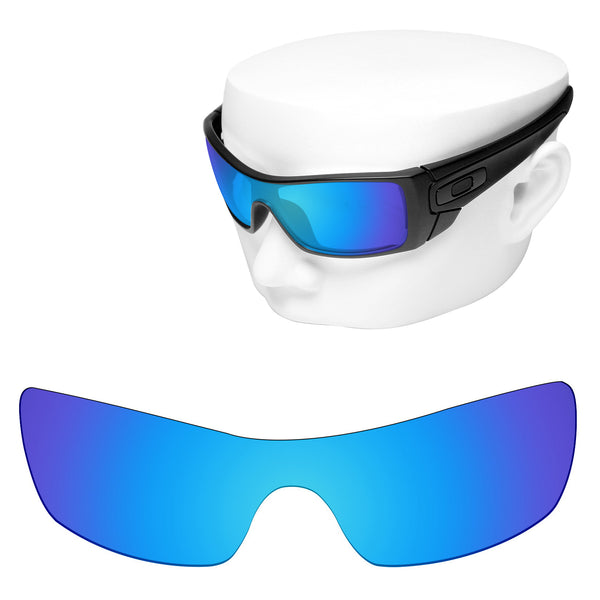 OOWLIT Replacement Lenses for Oakley Batwolf Sunglass