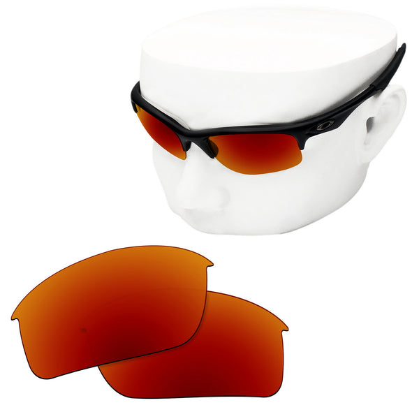 OOWLIT Replacement Lenses for Oakley Bottle Rocket Sunglass