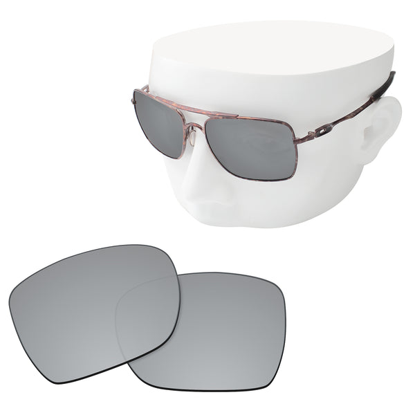OOWLIT Replacement Lenses for Oakley Deviation Sunglass