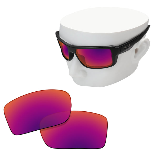 OOWLIT Replacement Lenses for Oakley Double Edge Sunglass