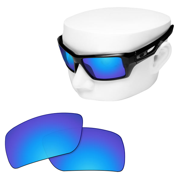 OOWLIT Replacement Lenses for Oakley Eyepatch 1 Sunglass