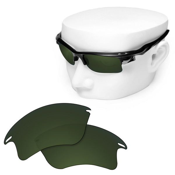 OOWLIT Replacement Lenses for Oakley Fast Jacket XL Sunglass